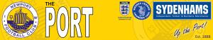 Newport (IoW) FC Banner